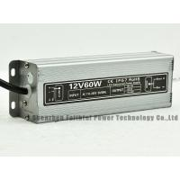 Aluminium Waterproof 5A 60W 12V Constant Voltage LED Switching Power Supply 2.5A 60W 24V Manufactures