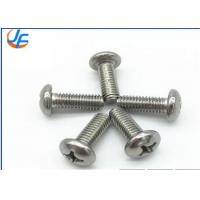 High Standard SS Phillips Pan Head Machine Screw M3-M30 Bright Surface Treatment Manufactures