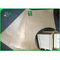 China Thickness 50gsm Food PE Coated Paper Natural Color Direct Contact on sale