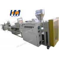 China LED Tube Light Plastic Profile Extrusion Machine Stable High Performance on sale