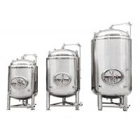 Stainless Steel SUS304 Beer Serving Tanks / 7BBL Beer Making Machine Auto Control
