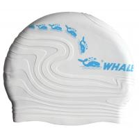 China Multi Color Unisex Silicone Swimming Caps , Waterproof Swimming Hats For Adult on sale