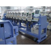 Professional 8 Head Embroidery Machine For Caps And T Shirts 450 Y AXIS DEPTH Manufactures