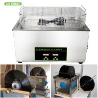 Lp Vinyl Record Digital Ultrasonic Cleaning Machine Stainless Steel Benchtop 6.5 Litre 40khz Manufactures