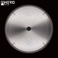 High Strength Aluminum Cutting Circular Saw Blade Straight Running Non Rust Manufactures