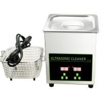 Stainless Steel 304 Digital Ultrasonic Cleaner For Watches Silver Jewelry Lens Eyeglass Manufactures
