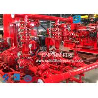 Centrifugal Skid Mounted Fire Pump Single Stage For Pipelines Bureaus Manufactures