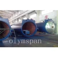 Food Rubber AAC Autoclave Pressure Vessel For Chemical / Textile / Wood Manufactures