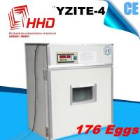 YZITE-4 98% hatching rate CE approved full automatic egg hatching machine price 176 capacity with good quality Manufactures