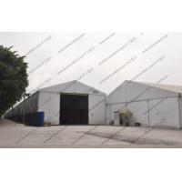 5m Height Warehouse Storage Tent Flame Retardance White With PVC Roof Cover Manufactures