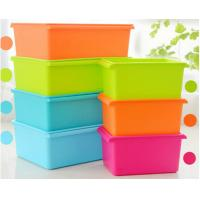 China Cheap Plastic Storage Box with Lid for Food, Tools, Clothes on sale