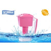 China BPA Free Wellblue Water Pitcher , Plastic Water Filter Kettle NSF WQA Cetificate on sale