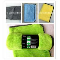 China 300gsm Microfiber coral fleece car care cloth car window cleaning towel super absorbent on sale