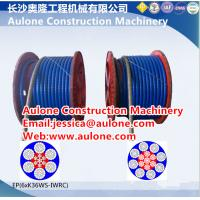 China Plastic Coated Steel Wire Rope,dragline plastic coated wire ropes on sale