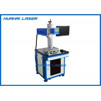 Split Desk CO2 Fiber Laser Marking Machine For Metal Plastic Tag Key Chains Pen Manufactures