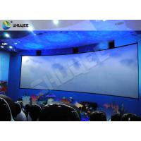 Specific Design 5D Cinema System With Red Black Motion Chairs In High Synchronized Performance Manufactures