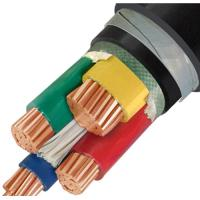 16mm 4 Core Low Voltage Cable , XLPE STA/SWA Armoured Low Voltage Cable Wire Manufactures