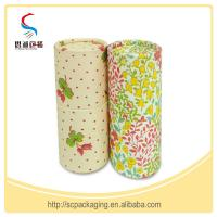 Quality Recyclable Cardboard Cylinder Paper Gift Boxes Handmade  for sale