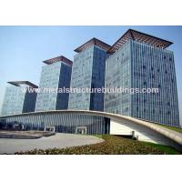 Safe Galvanized Prefabricated Steel Structures For Infrastructure Building Manufactures
