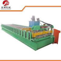 Easy Operation Steel Roll Forming Machine For 0.3 - 0.8 Mm Width Steel Sheet Manufactures