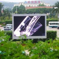 DIP Water Proof P10 mm Outdoor Led Billboard Display High Definition CE / Rohs Approved Manufactures