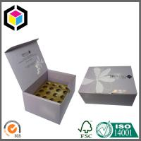 Glossy CMYK Color Printing Corrugated Cardboard Packaging Box with Dividers Manufactures