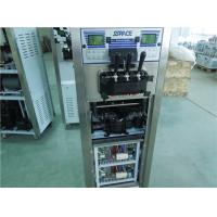 Quality 3 Compressors Commercial Soft Serve Frozen Yogurt Machine Two Control Systems for sale