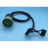 China Female To Molex Connector Cable For Heavy Duty Truck , OEM ODM Service on sale