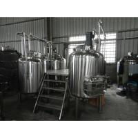 Full-Automatic Small Beer Brewing Equipment Commercial 100L - 5000L Manufactures