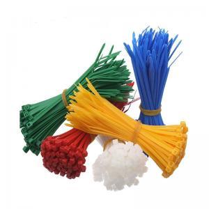 China 3.6mm Waterproof  Nylon Cable Ties / Plastic Electrical Ties Acid Resistance on sale