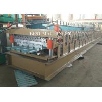 686 & 762 IBR and Corrugated Profile Roll Forming Machine / Metal Roofing Equipment Manufactures