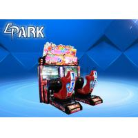 China 2019 New arcade race car connection battle game machine simulator commercial arcade games for sale on sale
