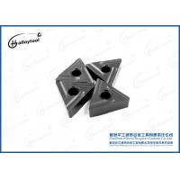 China High Hardness KNUX Tungsten Carbide Inserts 8208101900 For Cast Iron And Steel on sale