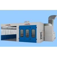 Blue 3 in1 Car Drying treatment, Painting, Preparation Area Electric Large Spray Booth Manufactures