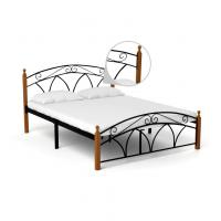 Waterproof Queen Size Metal Bed Strong Load Bearing Capacity Simple Style Manufactures