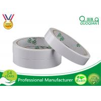 White / Yellow Color Double Side adhesive Tape Oil Based Hot Melt Adhesive Tape Manufactures