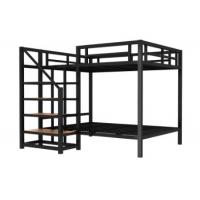 China Modern Bunk Bed Kids Metal Bunk Beds  School Furniture Simple Metal Bed Frame For Home Use on sale