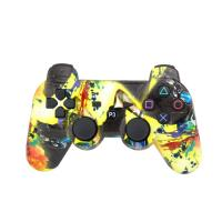 ABS Material Bluetooth Game Controller, Ps3 Controller JoystickPressure Sensitive Buttons Manufactures