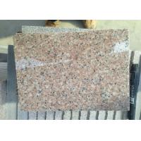 G681 Shrimp Pink Rose Pink Rosy Cloud Xiahong light pink red polished Granite stone tiles slabs Manufactures