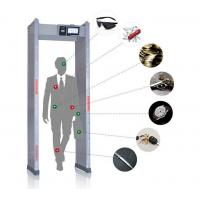 China Touch Screen Walk Through Metal Detector Door Frame For Defender / Public / Archway Security on sale