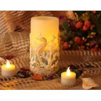 seahorse flameless crafts wax candle Manufactures