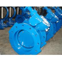 Double Eccentric 1.6MPa Flanged Butterfly Valve With Resilient Seat Conform to BS5155 Manufactures