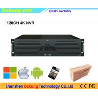 128CH P2P onvif NVR, 16pcs HDD SATA 64channel 4K Network Video Recorder Manufactures
