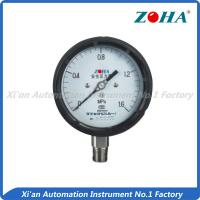 Phenolic Aldehyde Stainless Steel Pressure Gauge For Industrial Process Safety Manufactures