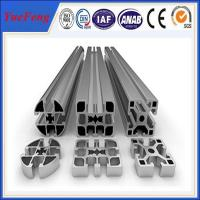 industrial profiles aluminum manufacturer, produce t slot aluminum extrusion for industry Manufactures