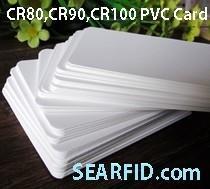 CR80 PVC Card, CR90 PVC Card, CR100 PVC Card, used for Card Printer, Encapsulate RFID Card Manufactures