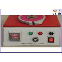 Widely Laboratory Electronic Taber Abrasion Testing Equipment with LCD 3 Head or 1 Head Manufactures