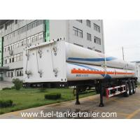 3 Axle 25.02 CBM 6 / 9 Tube CNG Tank Trailer Truck with Cylinder and connecting device Manufactures
