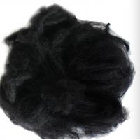 Black Reliance Polyester Staple Fibre 1.2D X 38MM For Non - Woven Fabric Manufactures