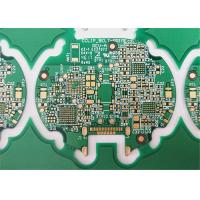 FR-4 HDI PCB Printed Circuit Boards 6 Layers Green Soldermask 1.6MM Board Thickness Manufactures
